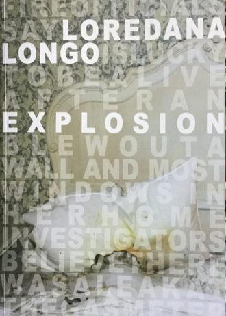 Loredana Longo. Explosion_maschietto