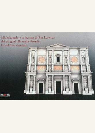Michelangelo e la facciata di San Lorenzo- dai progetti alla realtà virtuale. Le colonne ritrovate_maschietto