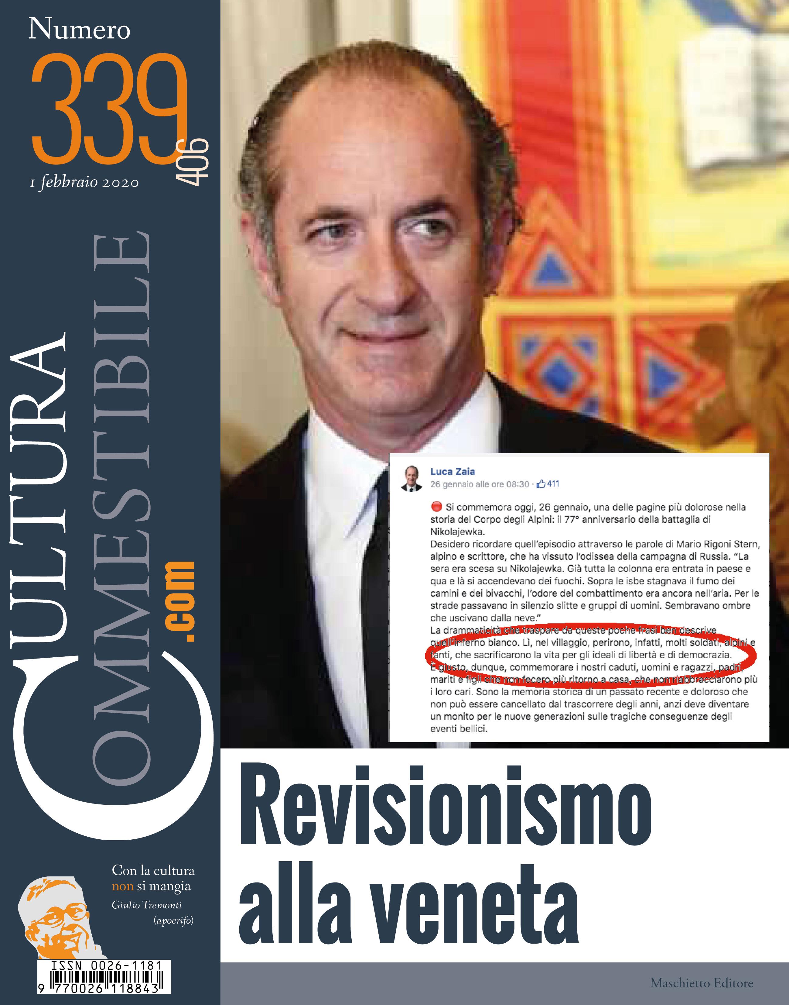 Cultura Commestibile n. 339
