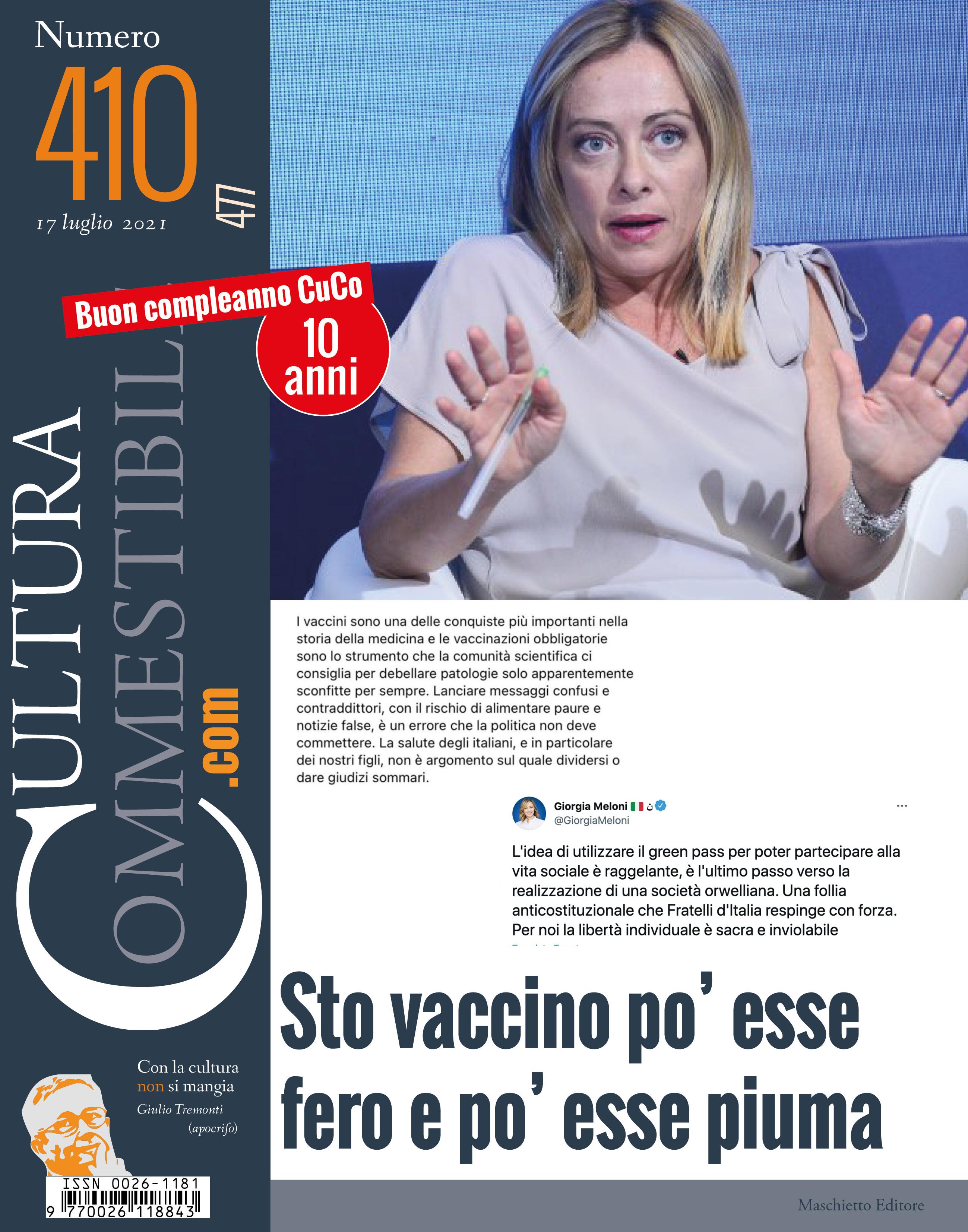 Cultura Commestibile n.410